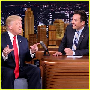 President Donald Trump Tells Jimmy Fallon to 'Be a Man'