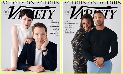 Benedict Cumberbatch, Claire Foy, Michael B Jordan, & Issa Rae Cover 'Variety'