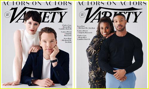 Benedict Cumberbatch, Claire Foy, Michael B Jordan, & Issa Rae Cover 'Variety'