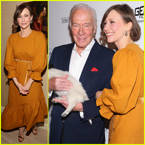 Vera Farmiga & Christopher Plummer Attend Special Screening of 'Boundaries' in NYC!