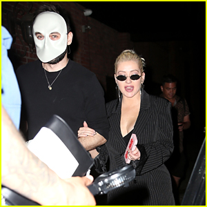 Christina Aguilera & Fiance Matthew Rutler Attend 'Sleep No More' in NYC!