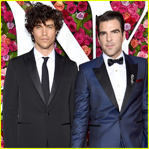 Zachary Quinto & Boyfriend Miles McMillan Look So Handsome at Tony Awards 2018!