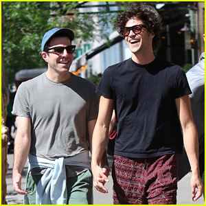 Zachary Quinto & Miles McMillan Look Like the Happiest Couple on a Sunny Afternoon Stroll!