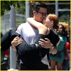 Zoey Deutch's Boyfriend Dylan Hayes Adorably Carries Her Around New York City!