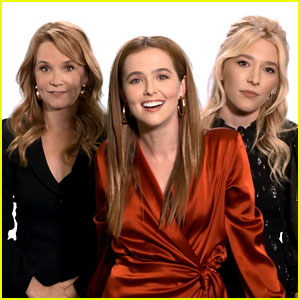 How Well Do Zoey Deutch, Madelyn Deutch, & Lea Thompson Know Each Other? Watch 'Speaking Deutch'! (Video)