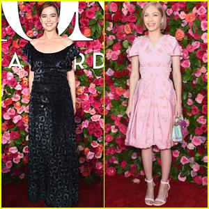Zoey Deutch & Tavi Gevinson Look So Pretty at Tony Awards 2018!