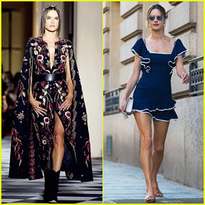 Alessandra Ambrosio Opens Zuhair Murad Show at Paris Haute Couture Fashion Week!