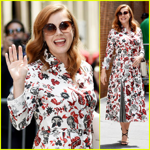 Amy Adams Looks Pretty in Floral Print at 'The View'!