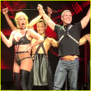 Andy Cohen Becomes Britney Spears' Bitch for NYC Show - Watch Video!