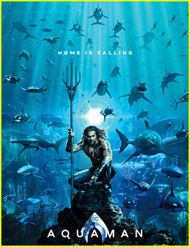 Jason Momoa's 'Aquaman' Gets New Poster Ahead of First Trailer!