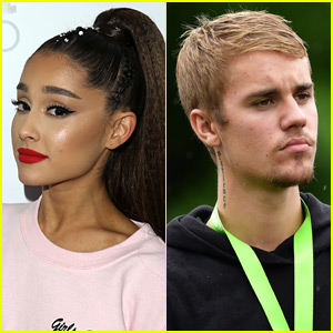 Ariana Grande Weighs In on Justin Bieber's Engagement After Fan Criticizes Scooter Braun