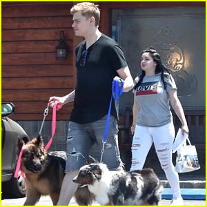 Ariel Winter & Boyfriend Levi Meaden Bring Their Pups to the Vet