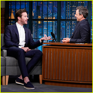 Armie Hammer Reveals the Unique Way He Learned His Lines for Broadway Debut