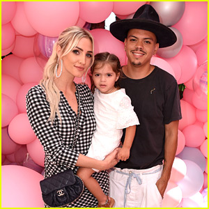 Ashlee Simpson & Evan Ross Bring Daughter Jagger to Petite 'n Pretty Launch