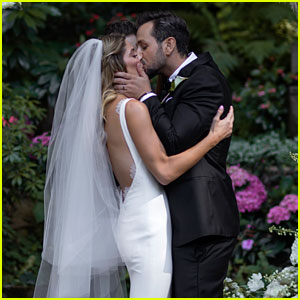 Ashley Greene & Paul Khoury Share Romantic Wedding Pictures!