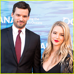 Austin Nichols & Girlfriend Hassie Harrison Make Red Carpet Debut as a Couple!