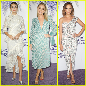 Bailee Madison, Becca Tobin & Rachael Leigh Cook Step Out for Hallmark Channel Summer TCA!