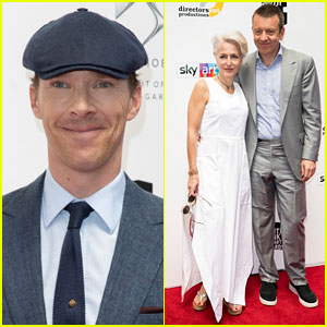 Benedict Cumberbatch & Gillian Anderson Attend Southbank Sky Arts Awards 2018!