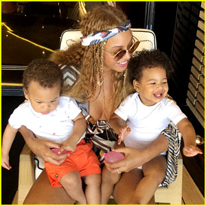 Beyonce Shares Rare Photo of Twins Rumi & Sir!