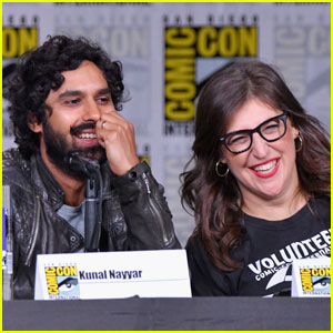Mayim Bialik & Kunal Nayyar Suprise Fans During 'Big Bang Theory' Comic-Con Panel