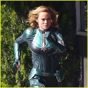 Brie Larson Wraps Captain Marvel Filming Brie Larson Captain