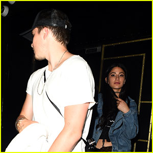 Brooklyn Beckham & Girlfriend Lexy Panterra Enjoy a Night Out in London