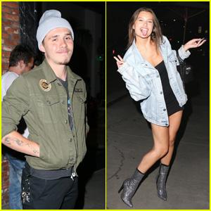 Brooklyn Beckham & Lexi Wood Enjoy a Date Night at Tao!