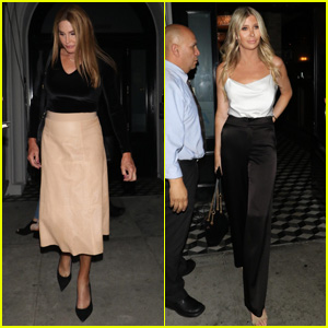 Caitlyn Jenner & Sophia Hutchins Hit Craig's for Dinner in Hollywood