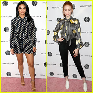 Riverdale's Camila Mendes & Madelaine Petsch Look Radiant at Beautycon 2018!