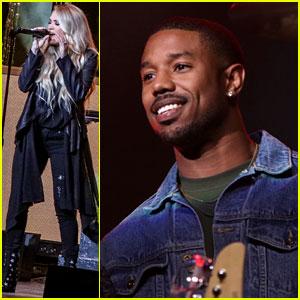 Carrie Underwood & Michael B. Jordan Help Open Atlantic City's New Hard Rock Hotel!