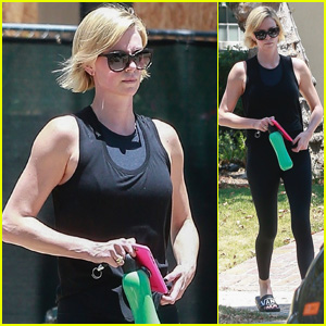 Charlize Theron Shows Off Her Toned Figure While Stepping Out in LA