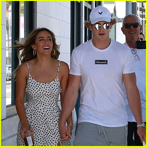 Chloe Bennet & Logan Paul Hold Hands After Confirming They're a Couple