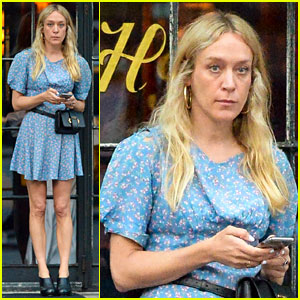 Chloe Sevigny Steps Out During Break From 'The Dead Don't Die' Filming