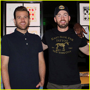 Chris Evans Had a Fun Weekend in Vegas with His Brother Scott
