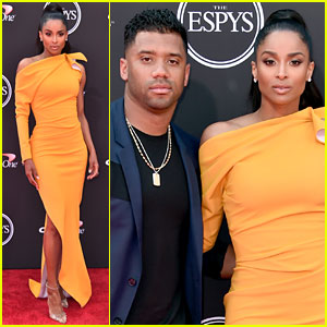 Ciara & Russell Wilson Couple Up at the ESPYs 2018