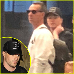 Colton Haynes & Jeff Leatham Seen Together 2 Months After Divorce Filing