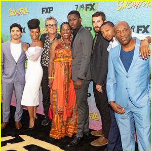 Damson Idris & 'Snowfall' Cast Celebrate Season 2 Premiere - Watch Trailer!