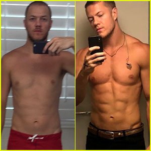 Imagine Dragons' Dan Reynolds Shows Off Incredible Body Transformation in Before & After Pics