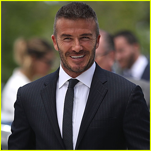 David Beckham Arrives at Business Meeting for New Soccer Stadium in Miami!