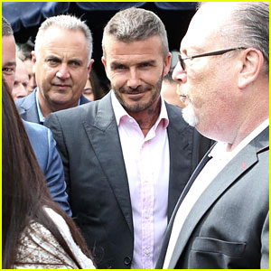 David Beckham Hosts FIFA World Cup Semifinals Watch Party in Miami