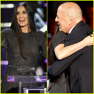 Demi Moore Makes Surprise Appearance at Ex-Husband Bruce Willis' Roast!