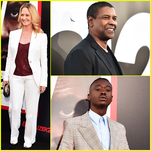 Denzel Washington & Ashton Sanders Get Star Support at 'Equalizer 2' Hollywood Premiere!