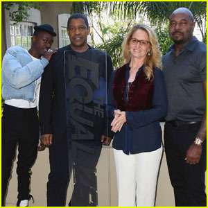 Denzel Washington Promotes 'The Equalizer 2' in LA!