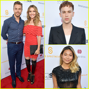 Derek Hough, Tommy Dorfman & More Step Out for Cedars-Sinai Sports Spectacular 2018!