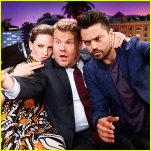 Dominic Cooper & James Corden Test Their Friendship with 'Shock Therapy' on 'Late Late Show'!