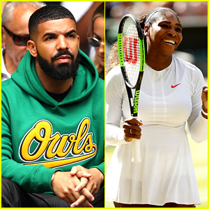 Drake Cheers On His Ex Serena Williams at Wimbledon!