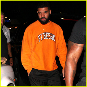 Drake Goes to the Nice Guy Club in West Hollywood!