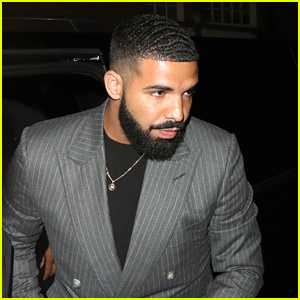 Drake Suits Up for Night Out in London!