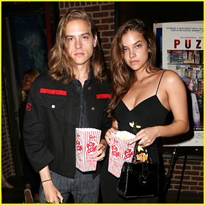 Dylan Sprouse & Barbara Palvin Attend a Movie Screening Together!