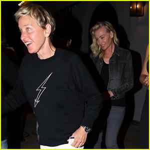 Ellen DeGeneres & Portia de Rossi Make It a Date Night!